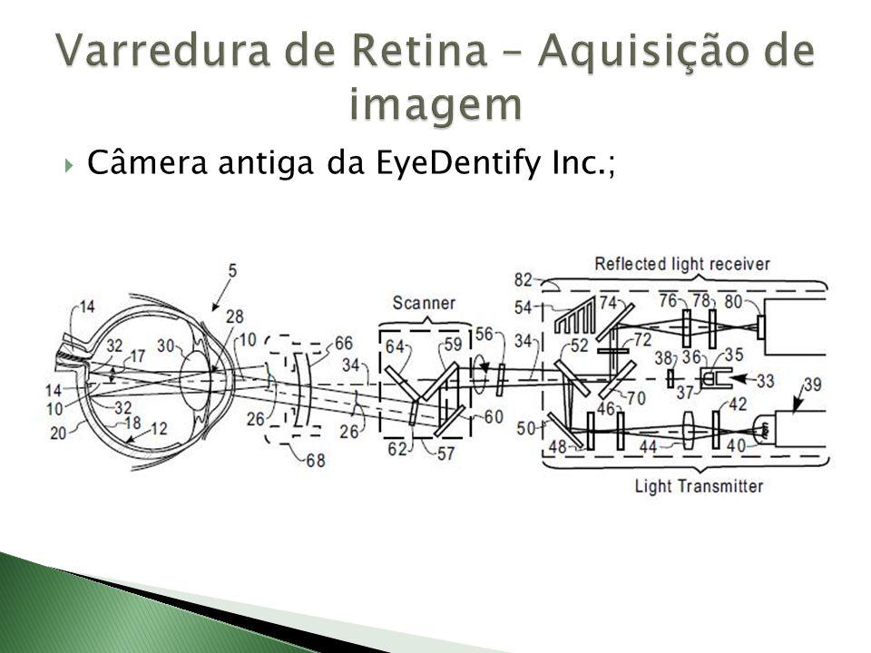 Varredura de Retina – Aquisição de imagem