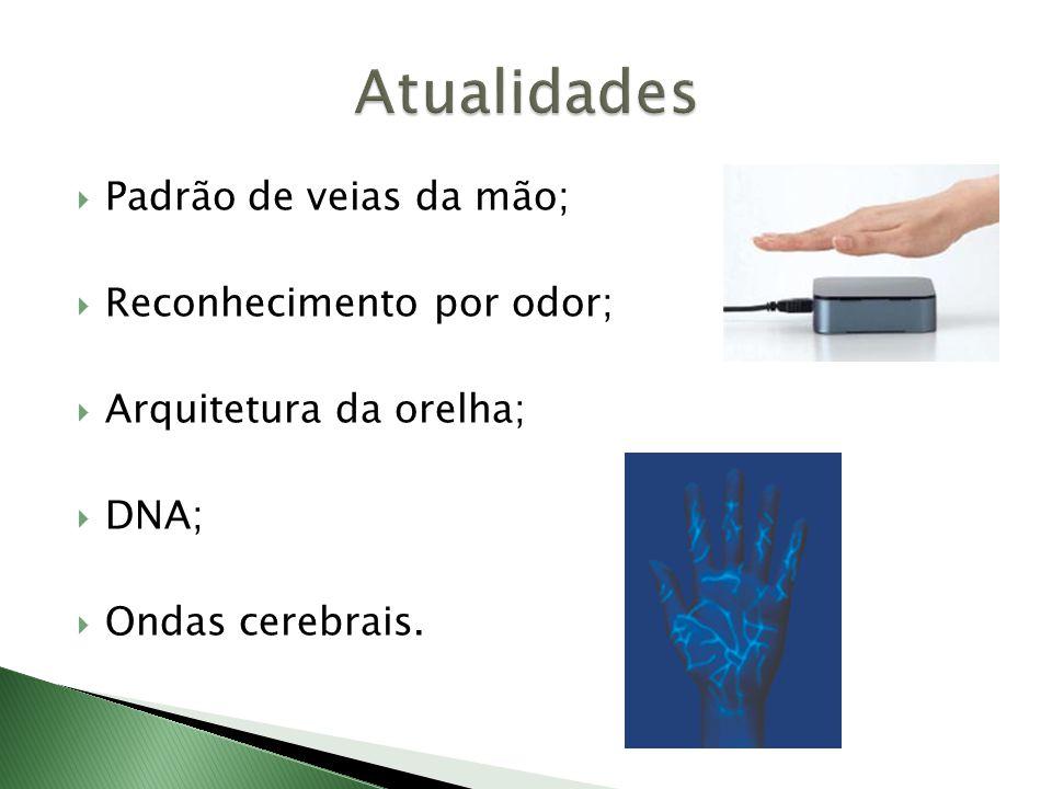 Atualidades Padrão de veias da mão; Reconhecimento por odor;