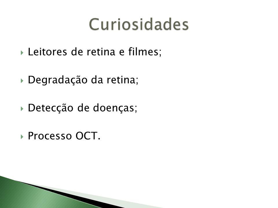 Curiosidades Leitores de retina e filmes; Degradação da retina;