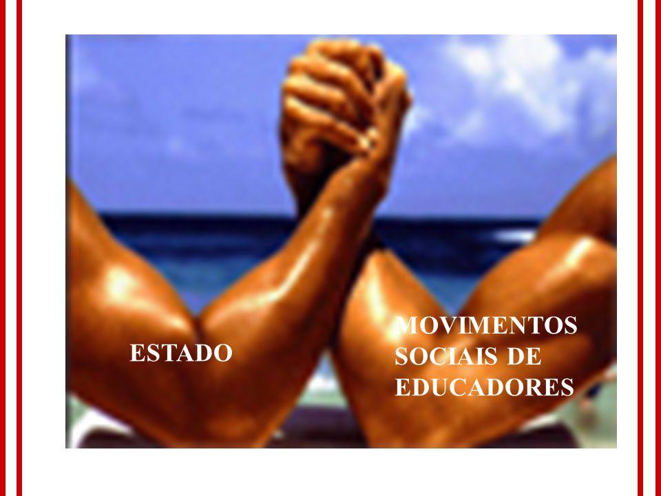 MOVIMENTOS SOCIAIS DE EDUCADORES ESTADO 14 14 14