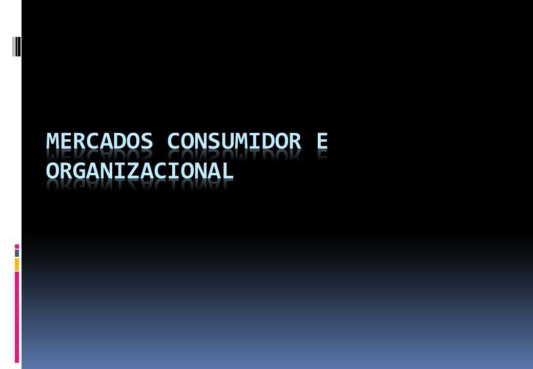 Mercados consumidor e organizacional