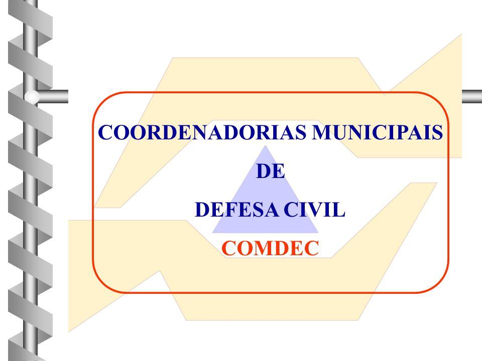 COORDENADORIAS MUNICIPAIS