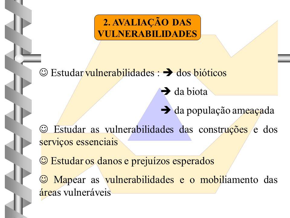 2. AVALIAÇÃO DAS VULNERABILIDADES