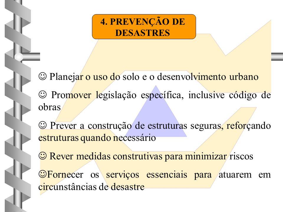 4. PREVENÇÃO DE DESASTRES