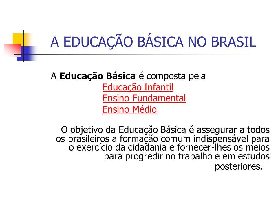 A EDUCAÇÃO BÁSICA NO BRASIL