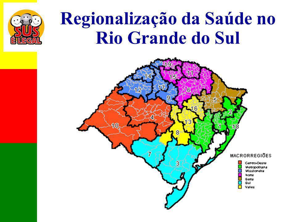 Regionalização da Saúde no Rio Grande do Sul