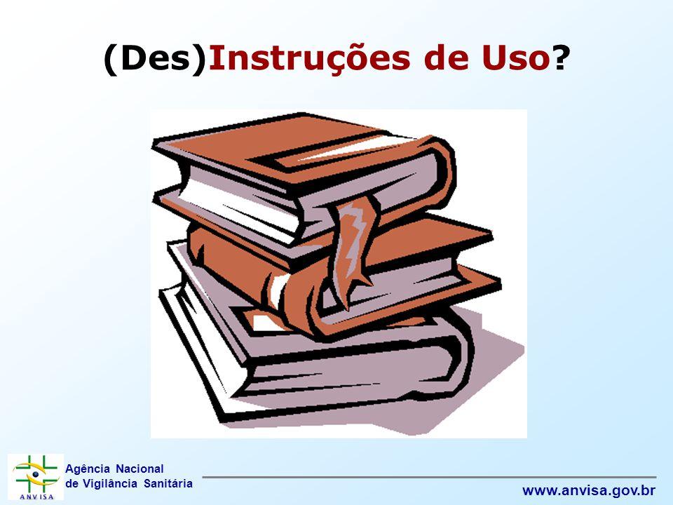 (Des)Instruções de Uso