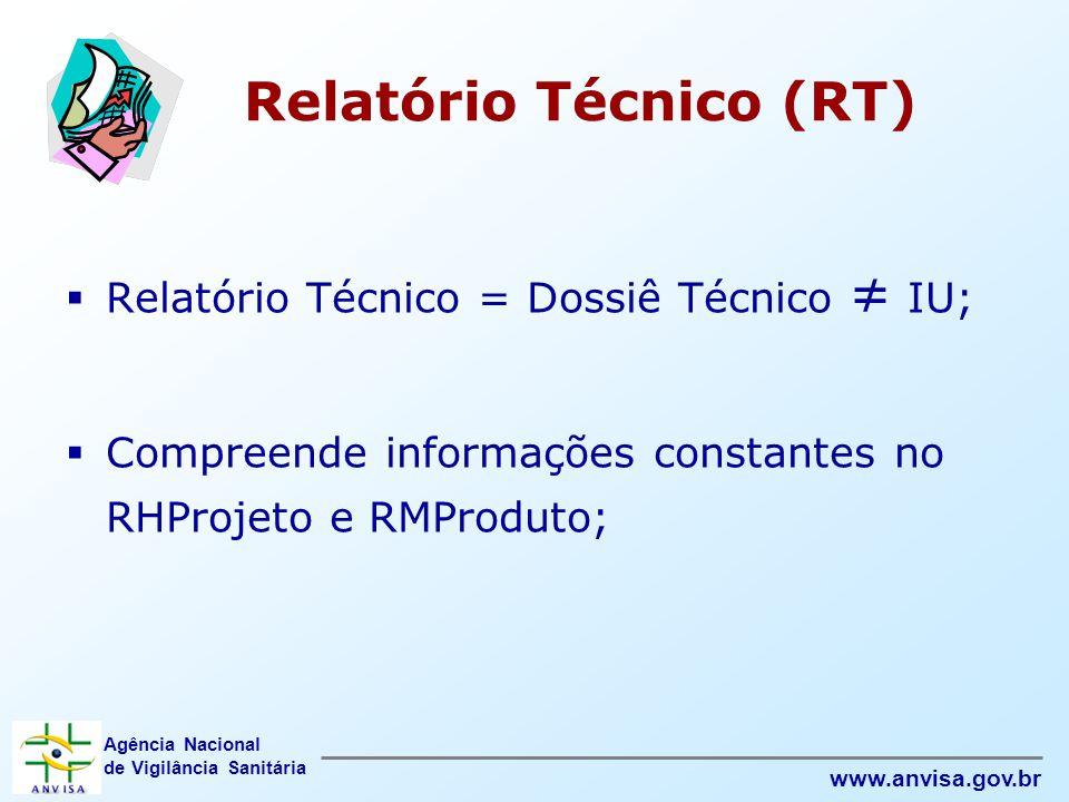 Relatório Técnico (RT)