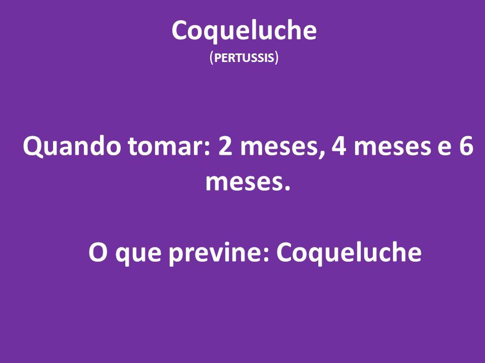 Coqueluche (PERTUSSIS)