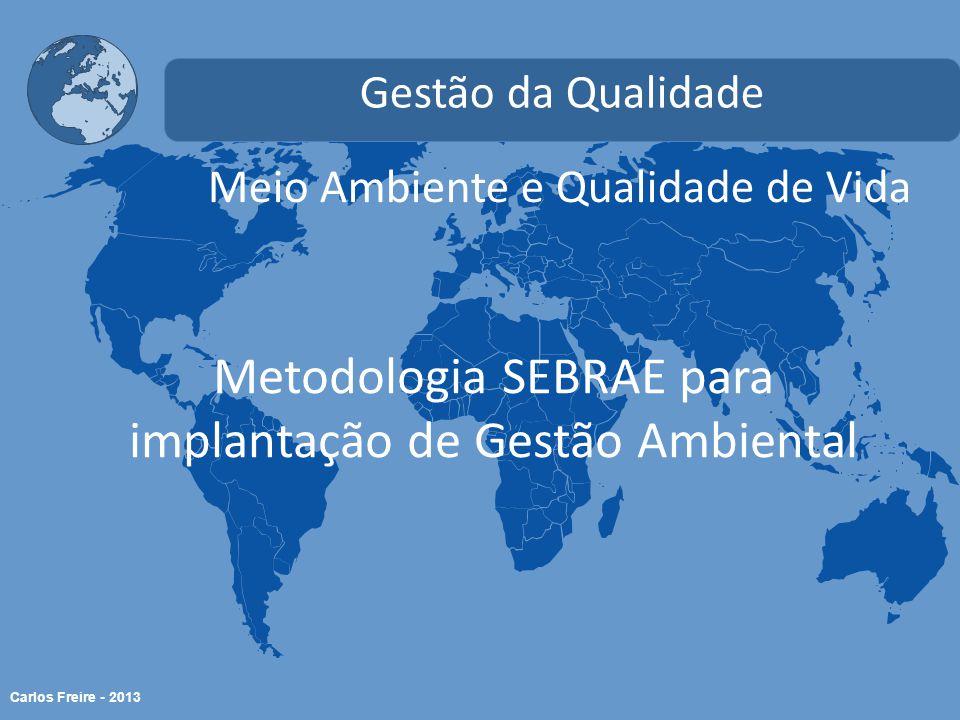 Metodologia SEBRAE para implantação de Gestão Ambiental