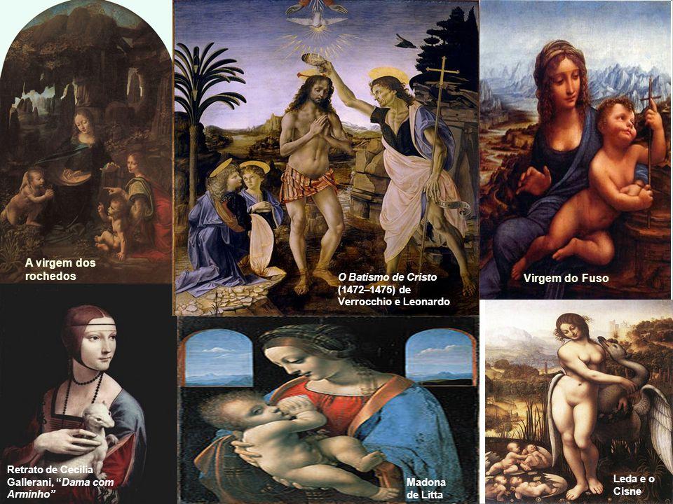 Leonardo Da Vinci A última ceia A virgem dos rochedos Mona Lisa