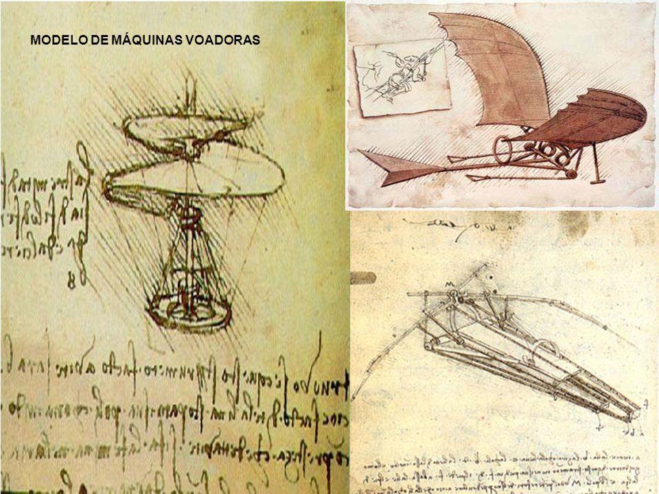 MODELO DE MÁQUINAS VOADORAS
