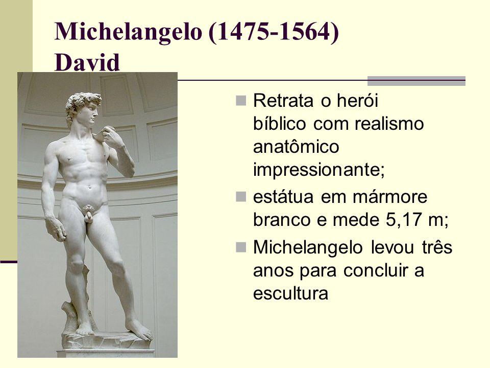 Michelangelo (1475-1564) David