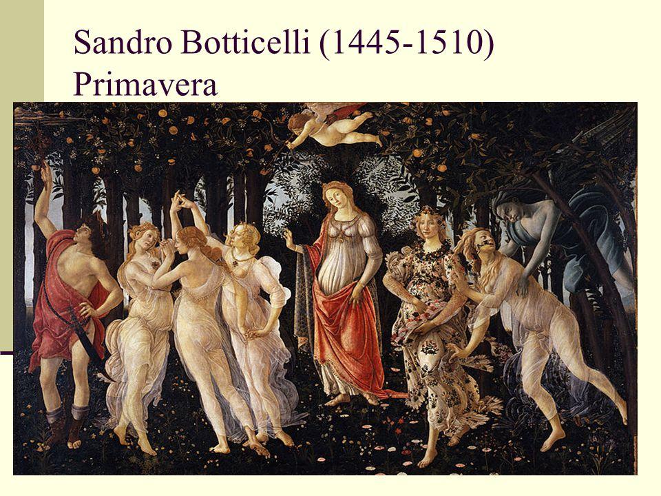 Sandro Botticelli (1445-1510) Primavera