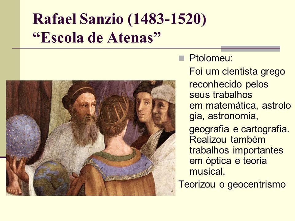Rafael Sanzio (1483-1520) Escola de Atenas