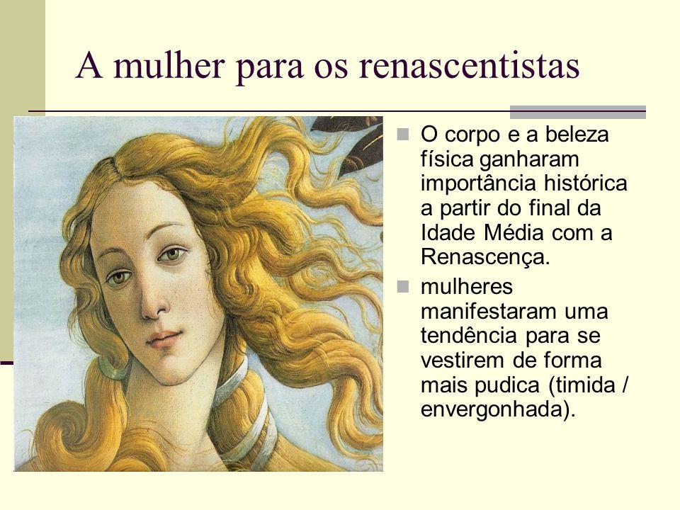 A mulher para os renascentistas