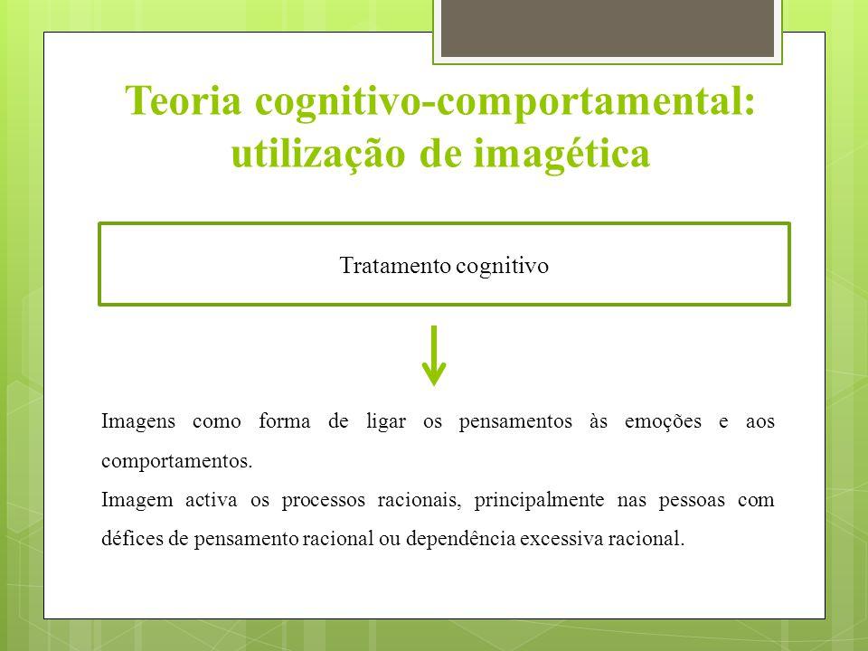 Teoria cognitivo-comportamental: utilização de imagética