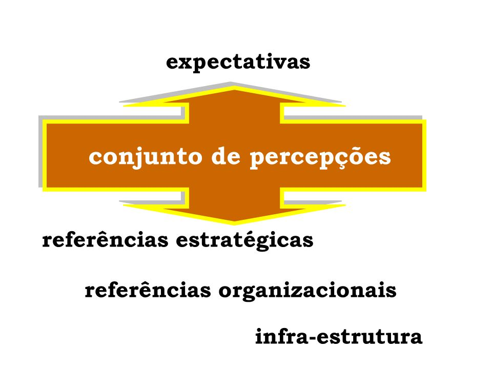 conjunto de percepções