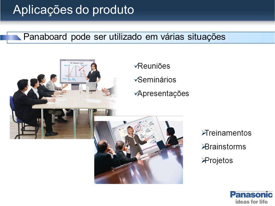 Aplicações do produto Panaboard pode ser utilizado em várias situações