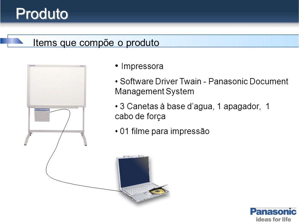 Produto Items que compõe o produto Impressora