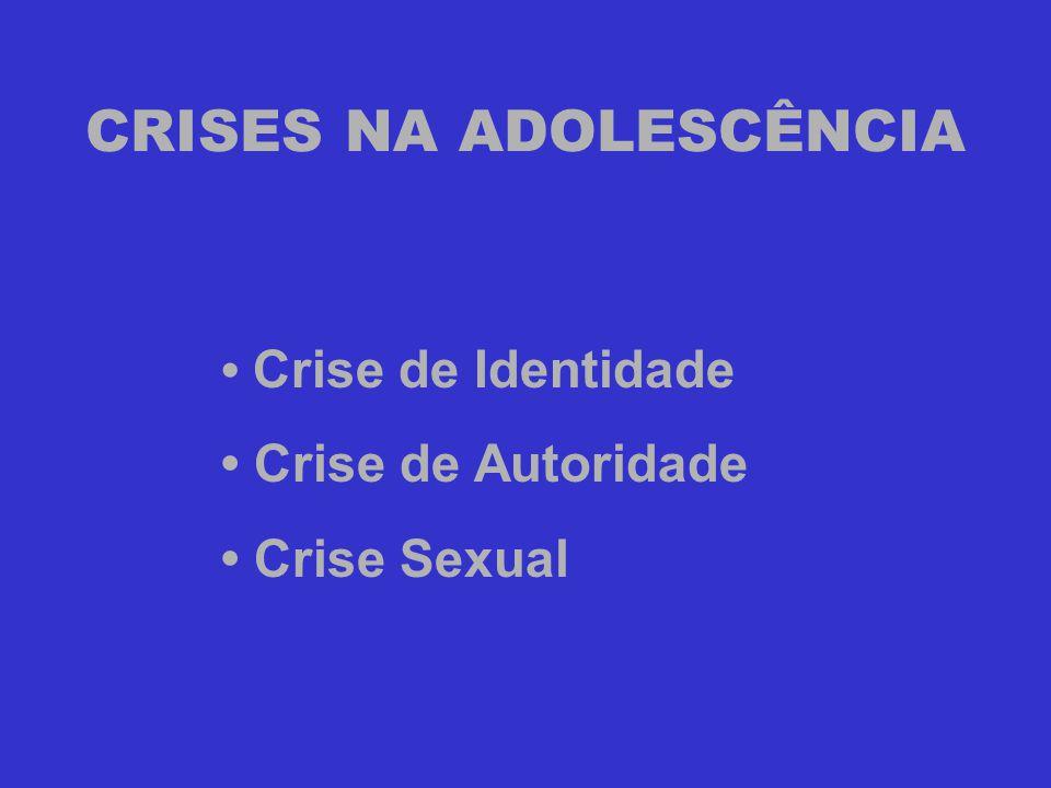 CRISES NA ADOLESCÊNCIA