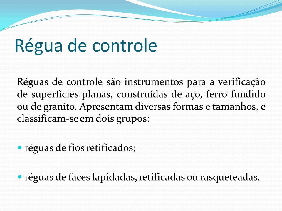 Régua de controle
