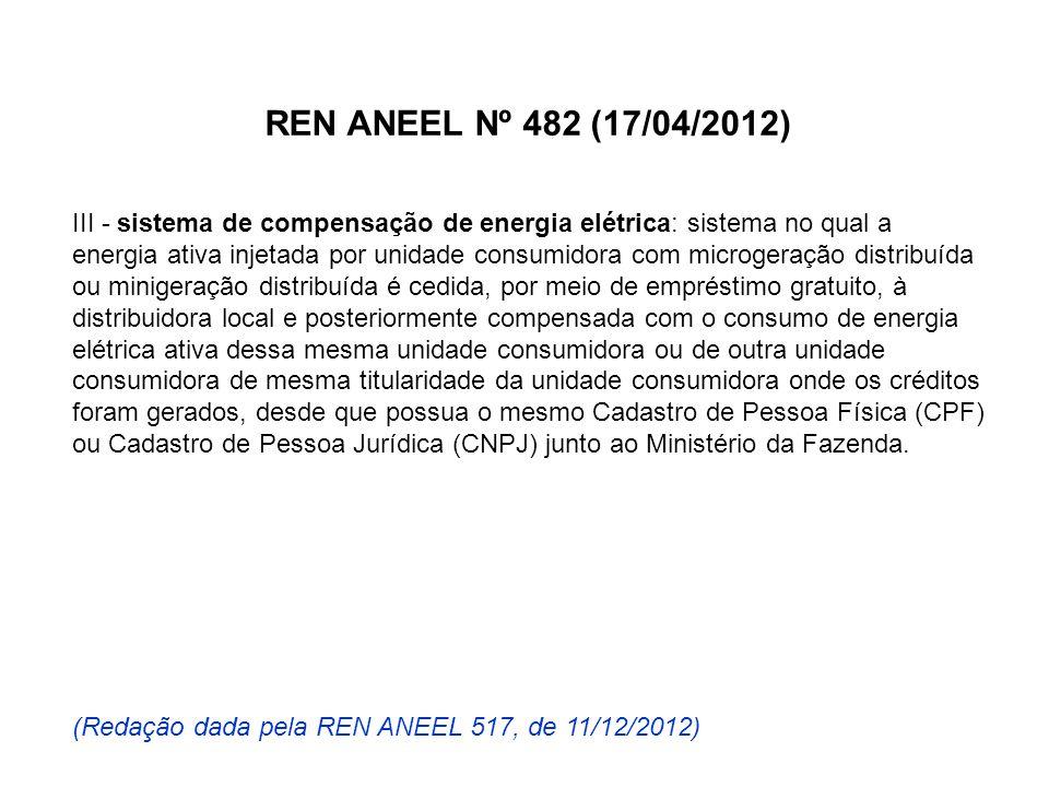 REN ANEEL Nº 482 (17/04/2012)
