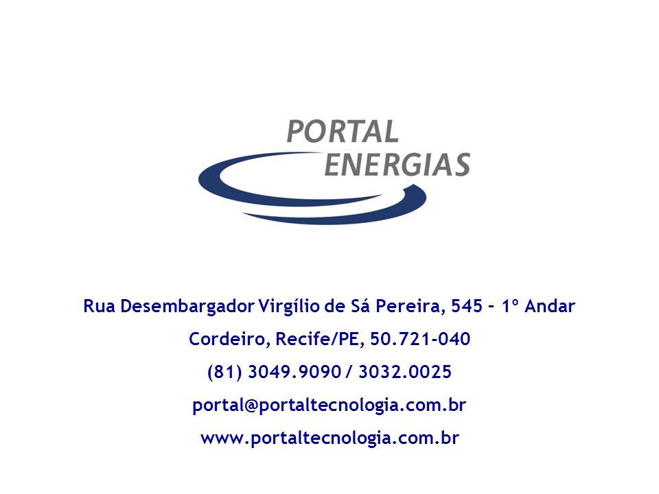 Rua Desembargador Virgílio de Sá Pereira, 545 – 1º Andar