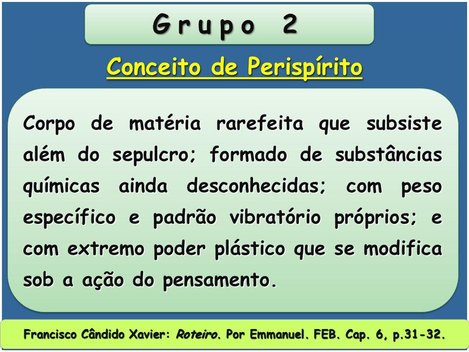 Grupo 2 Conceito de Perispírito