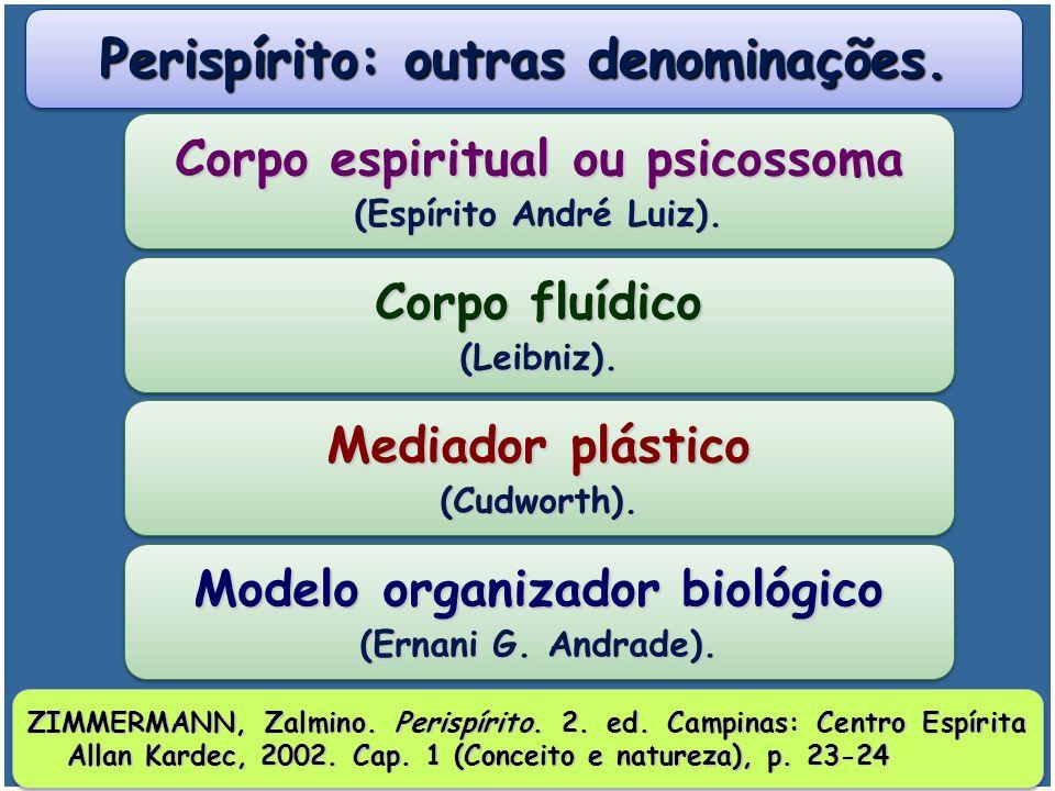 Perispírito: outras denominações.