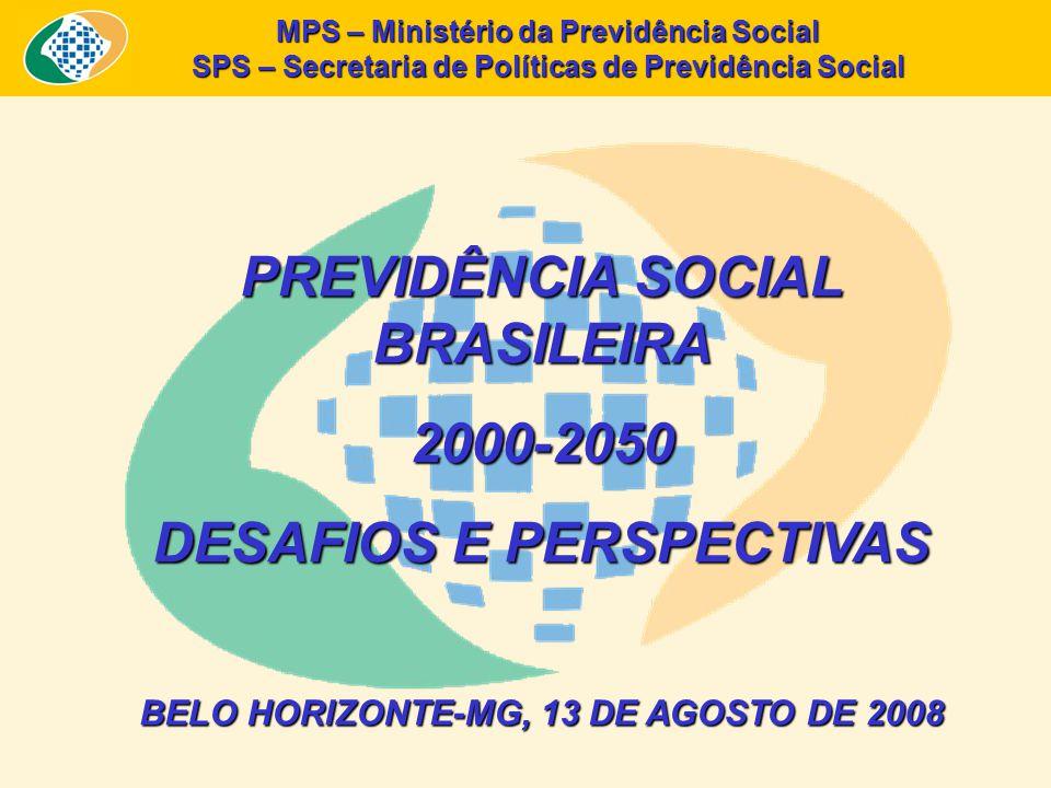 PREVIDÊNCIA SOCIAL BRASILEIRA 2000-2050 DESAFIOS E PERSPECTIVAS