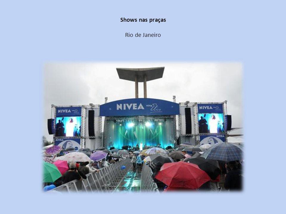 Shows nas praças Rio de Janeiro