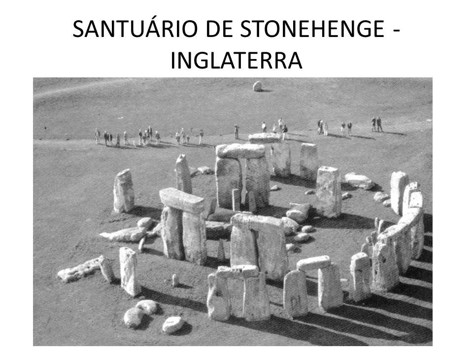 SANTUÁRIO DE STONEHENGE - INGLATERRA