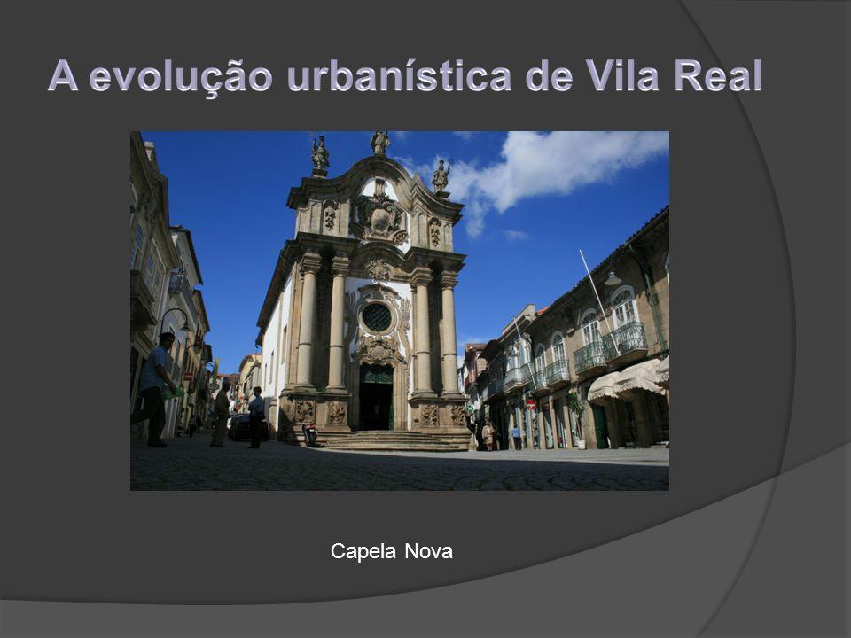 A evolução urbanística de Vila Real