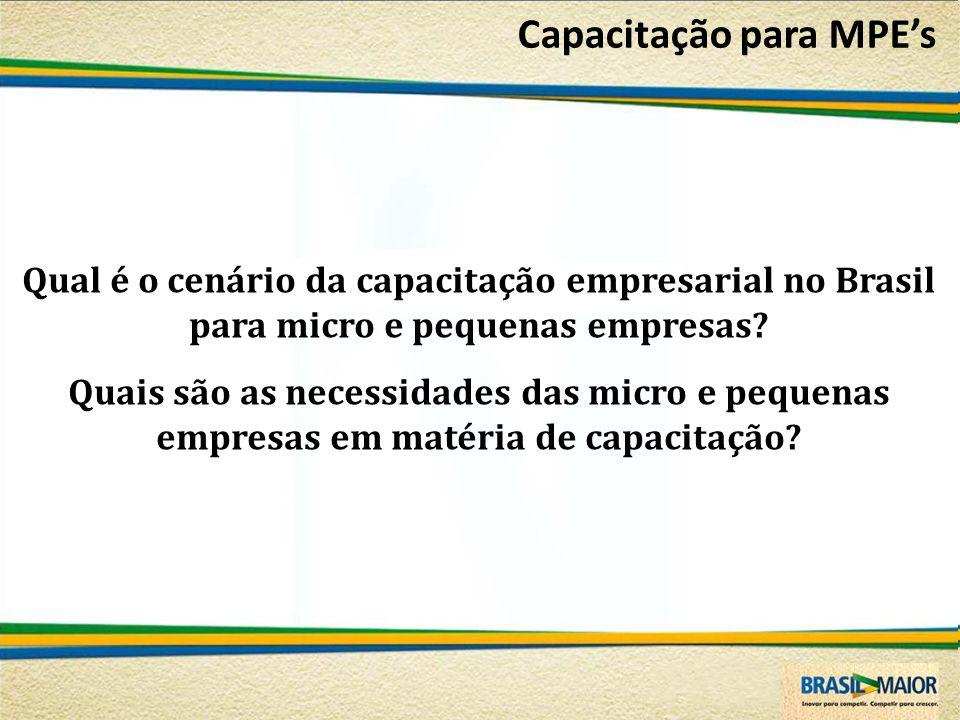 Capacitação para MPE's