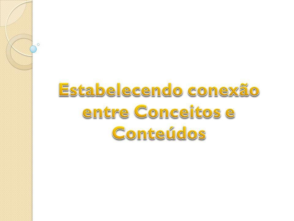 Estabelecendo conexão entre Conceitos e Conteúdos