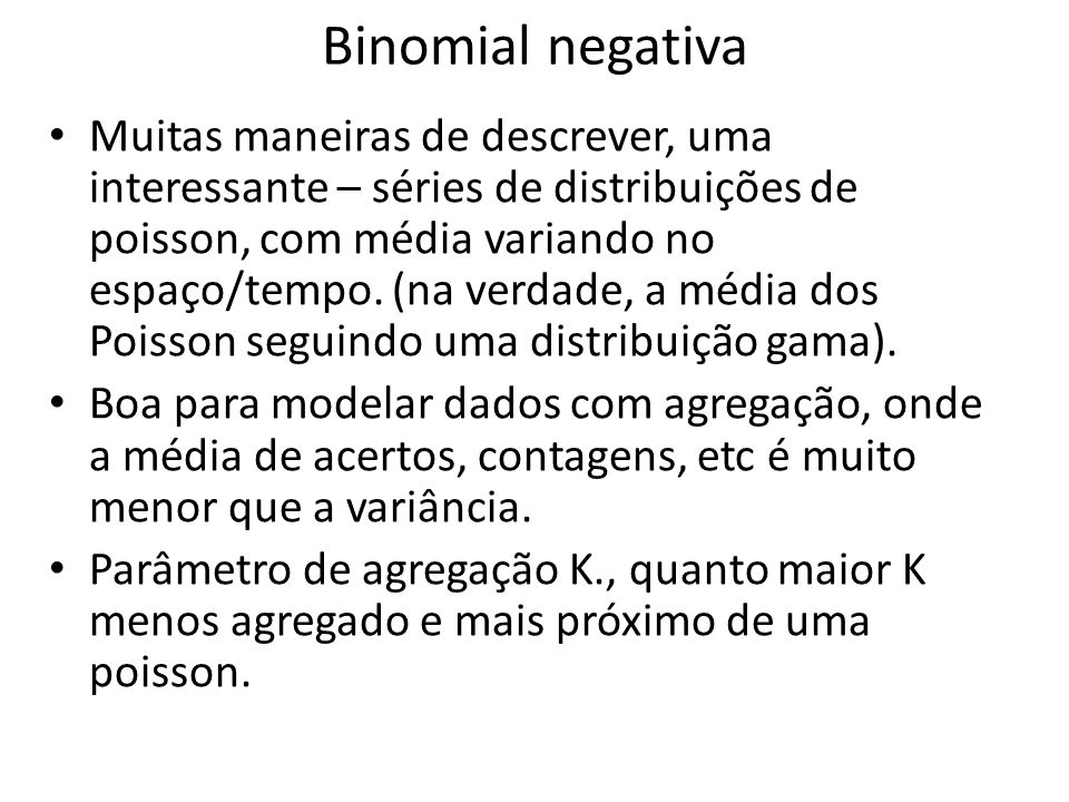 Binomial negativa