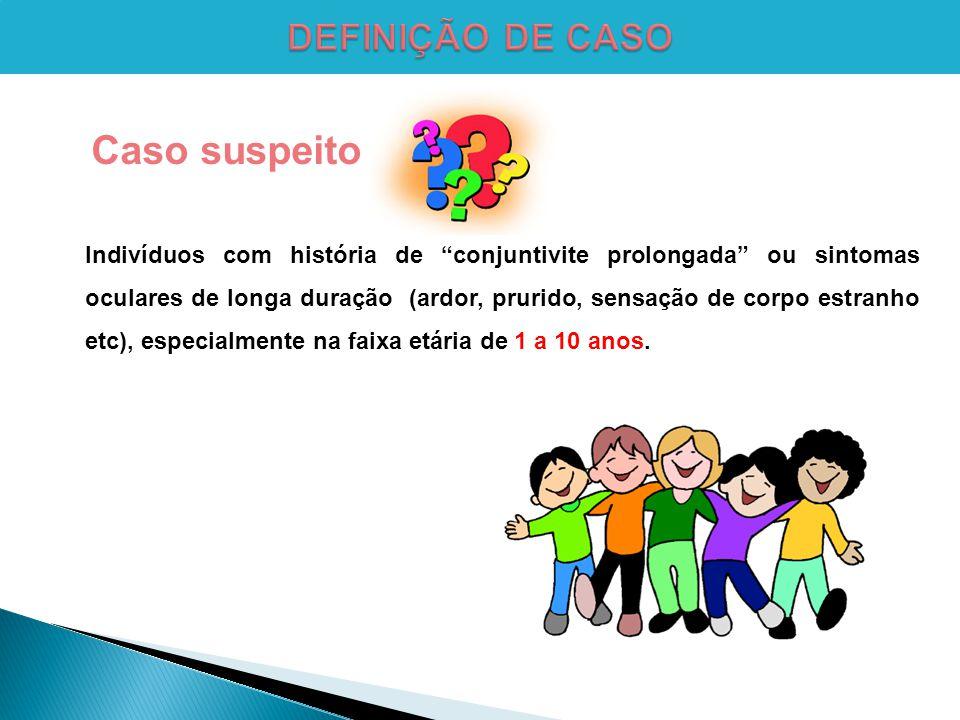 Caso suspeito DEFINIÇÃO DE CASO