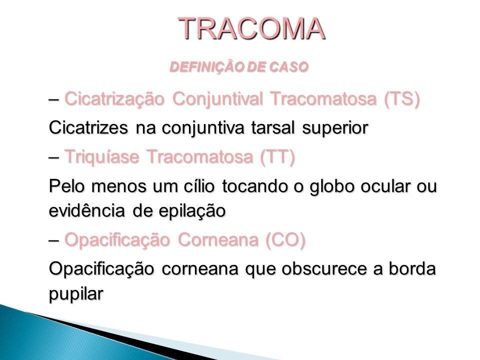 TRACOMA Cicatrização Conjuntival Tracomatosa (TS)