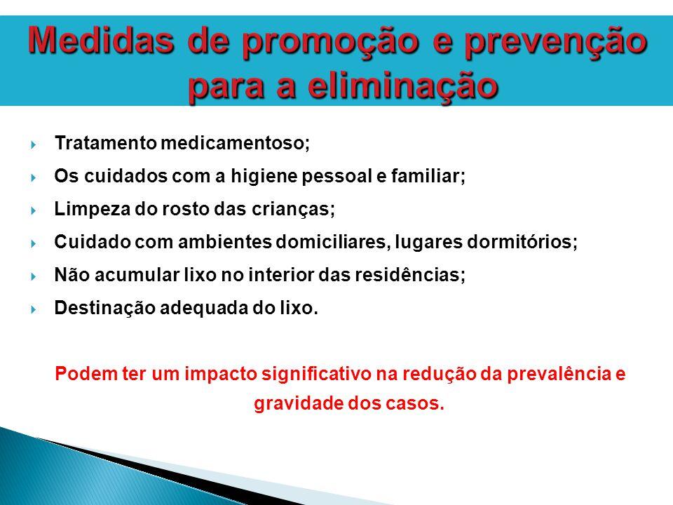 Medidas de promoção e prevenção para a eliminação