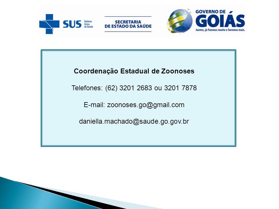 Coordenação Estadual de Zoonoses