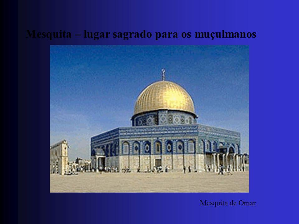 Mesquita – lugar sagrado para os muçulmanos