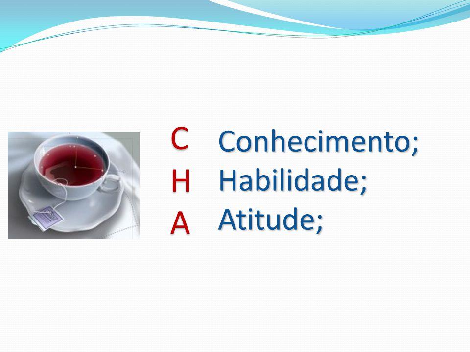 Conhecimento; Habilidade; Atitude; C H A