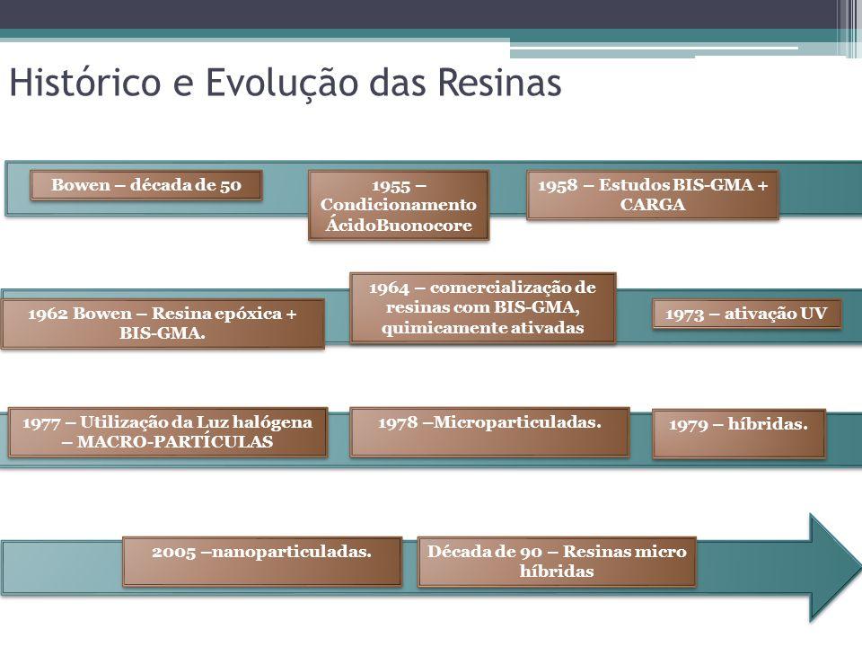 Histórico e Evolução das Resinas