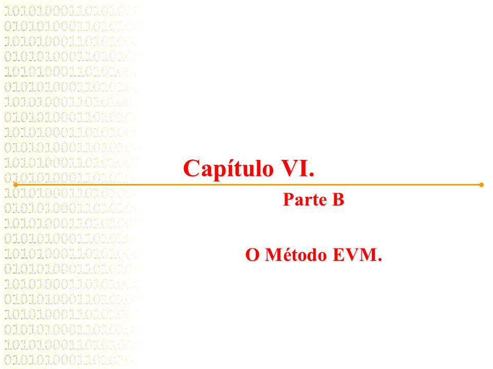 02/04/2017 Capítulo VI. Parte B O Método EVM.