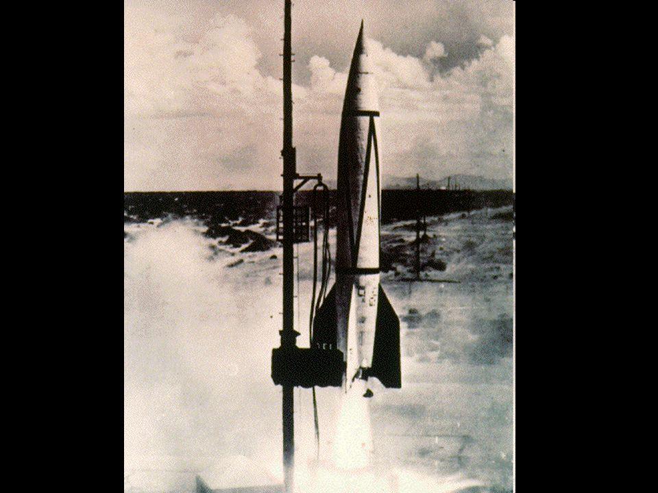 Lançamento de uma V-2 de Peenemünde