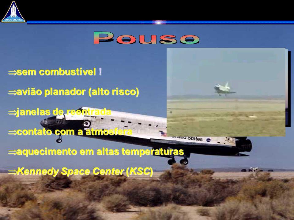 Pouso sem combustível ! avião planador (alto risco)