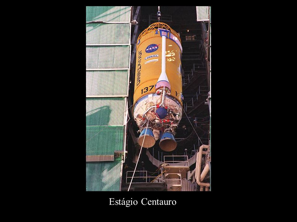 Estágio Centauro http://en.wikipedia.org/wiki/Centaur_(rocket_stage)