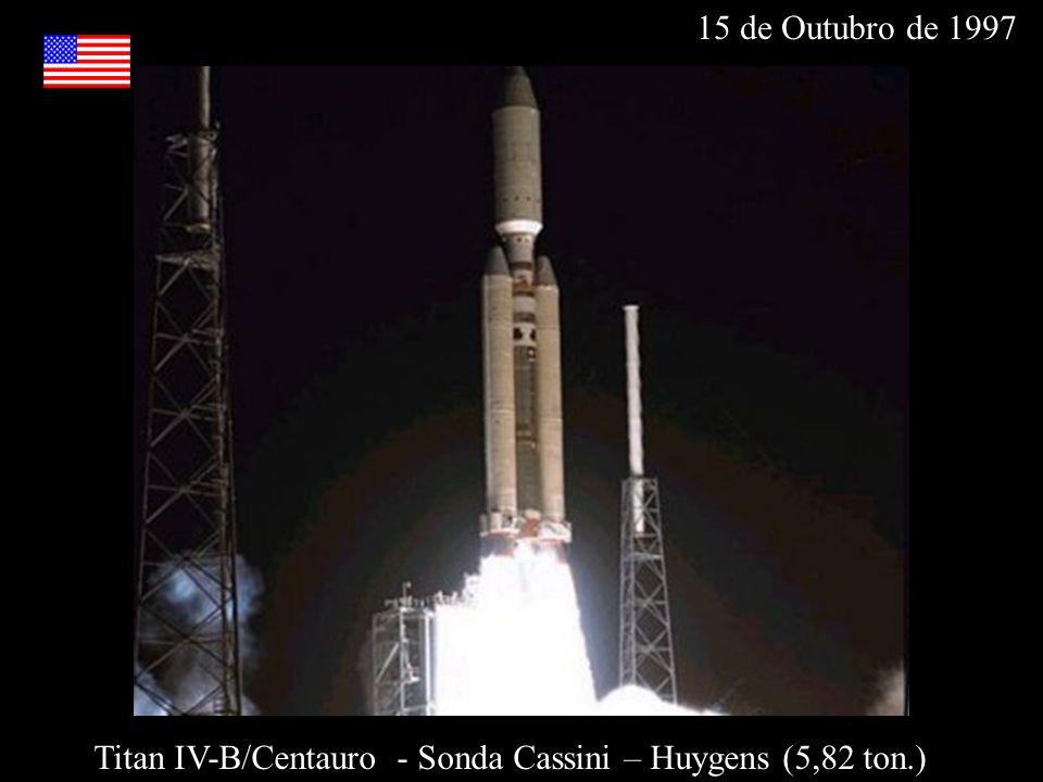Titan IV-B/Centauro - Sonda Cassini – Huygens (5,82 ton.)