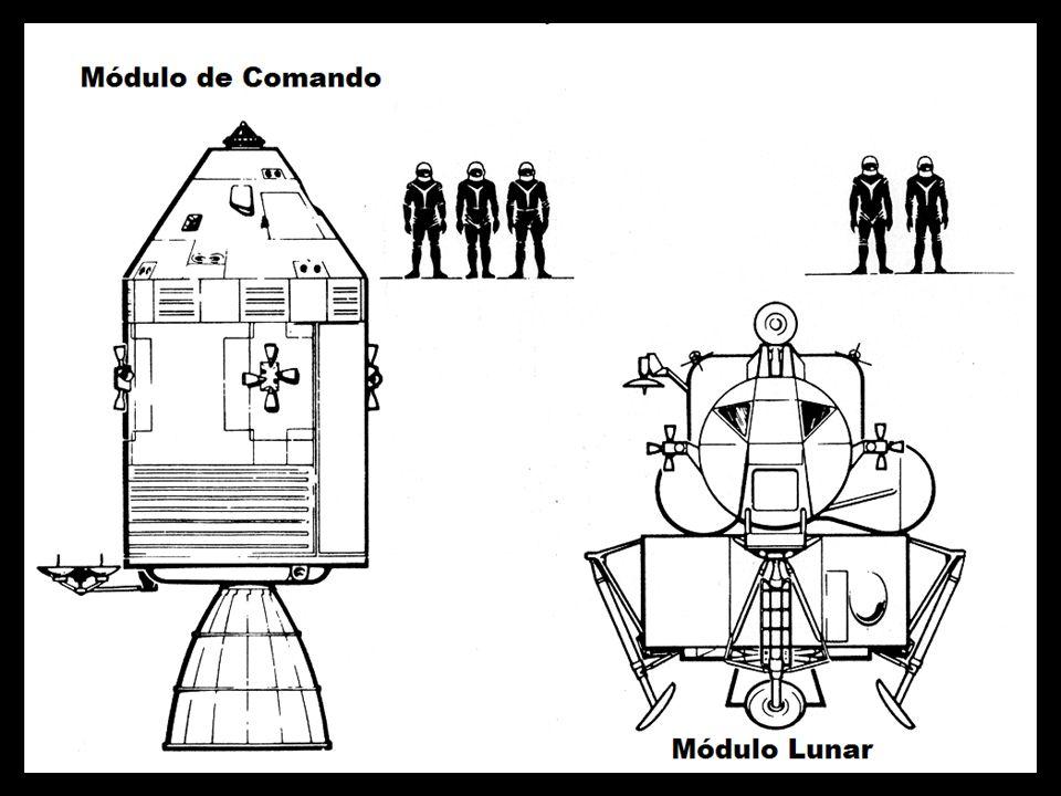 Módulo Apollo e Módulo Lunar